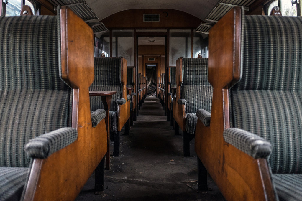 Victorian Train Carriage